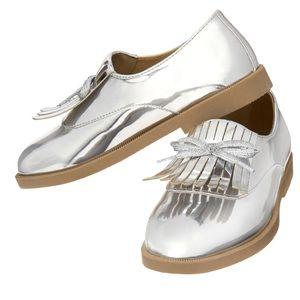 Girl's Silver Oxford's
